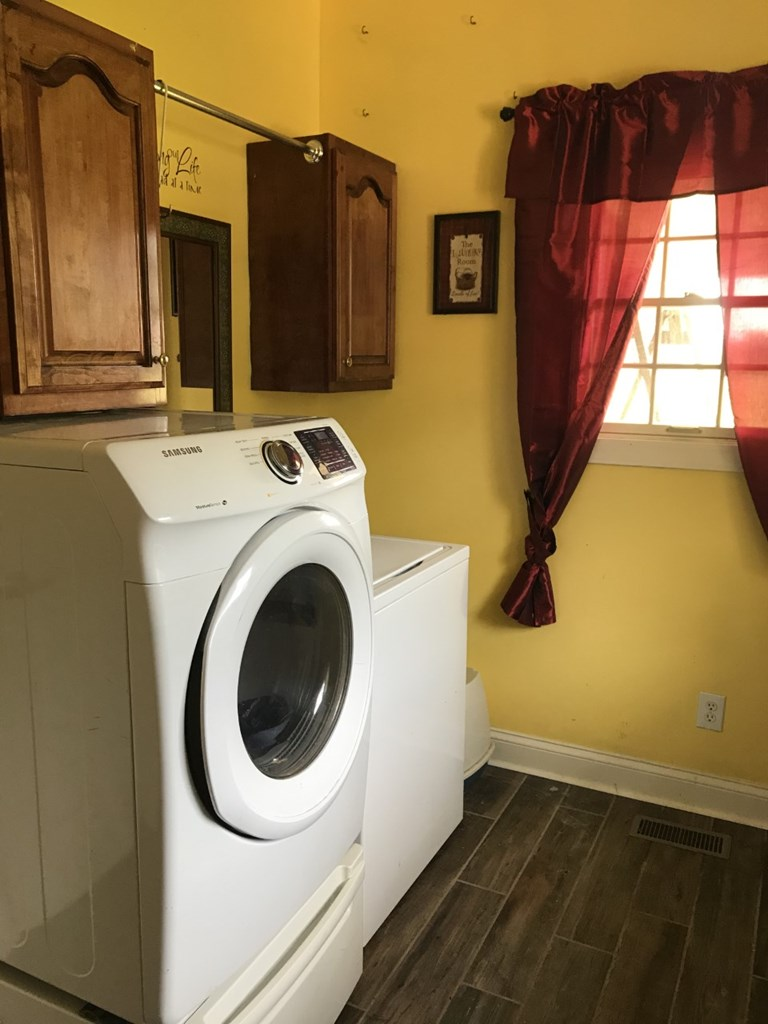 Alternate view of laundry room