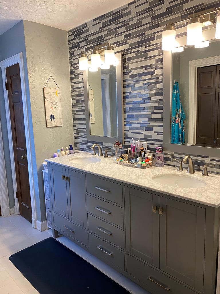 Owner's bath recently remodeled