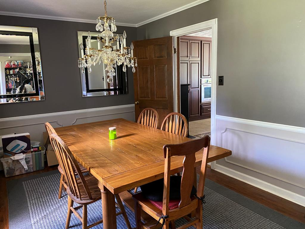Additional view of dining room from foyer